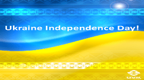 Congratulations on the occasion of the 27th anniversary of Ukraine's Independence!