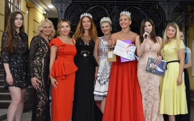 "Louise Semenyuta, Head of UVK Sales Department, became ""Mrs. Kharkov 2019"""