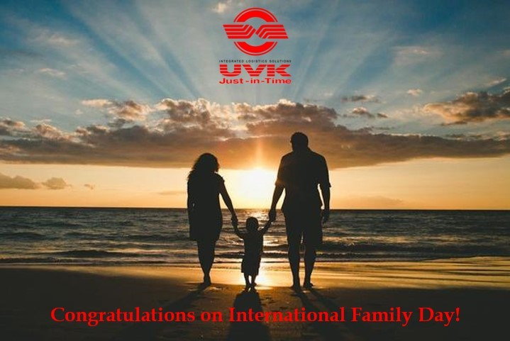 Congratulations on International Family Day!