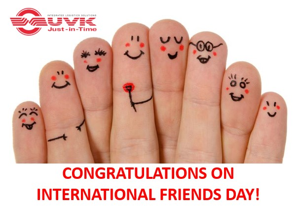 CONGRATULATIONS ON INTERNATIONAL FRIENDS DAY!