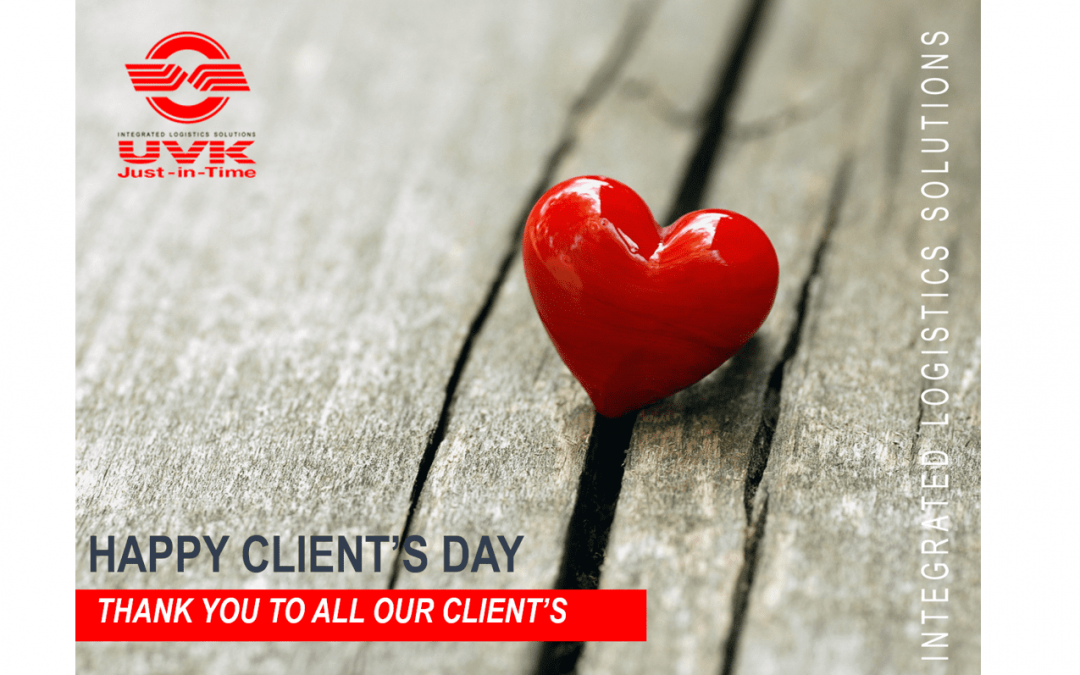 CONGRATULATIONS ON THE INTERNATIONAL CLIENT'S DAY!